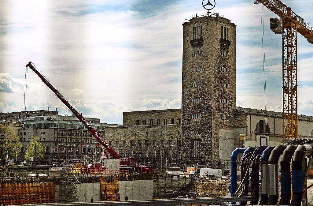 Die Bauarbeiten für das Großprojekt Stuttgart 21 werden noch bis 2023 dauern. Foto: Lichtgut/Max Kovalenko