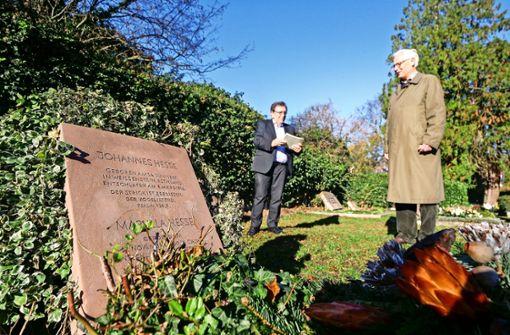 Der Grabstein der Hesses ist wie neu