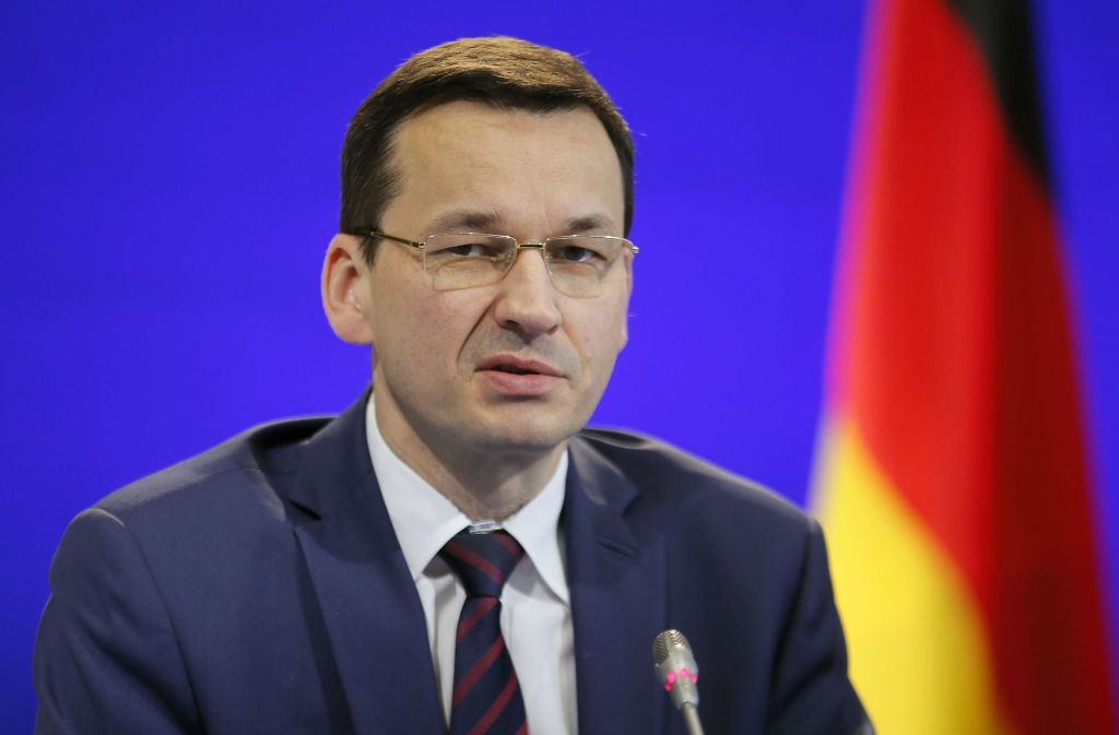 Polens Wirtschafts- und Finanzminister Mateusz Morawieckisoll Nachfolger von Ministerpräsidentin Szydlo werden. Foto: AP