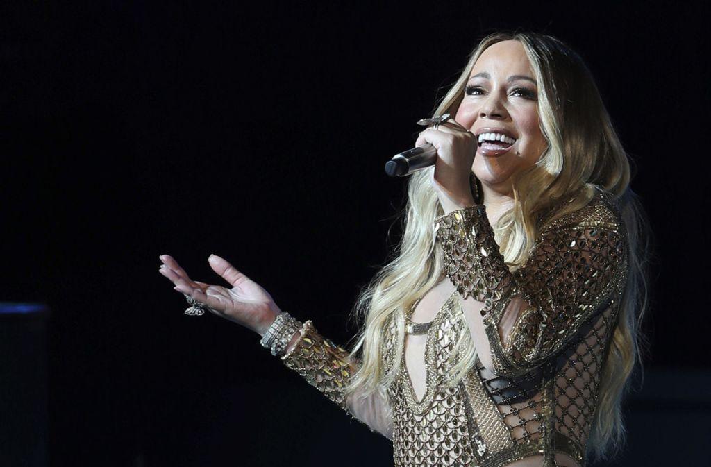 Wieder an der Spitze: Mariah Carey Foto: AP/Kamran Jebreili