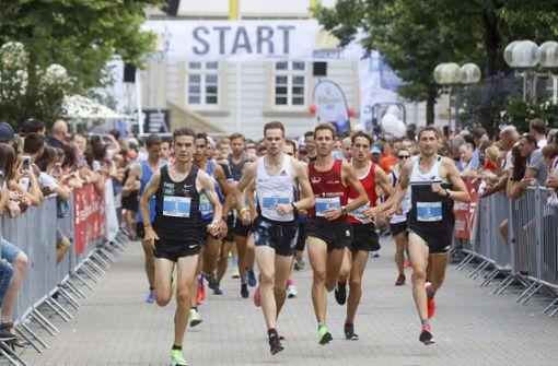 Sebastian Hendel gewinnt den Citylauf