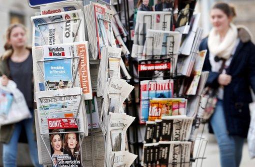 Mehr als 41 Millionen Menschen lesen Zeitung