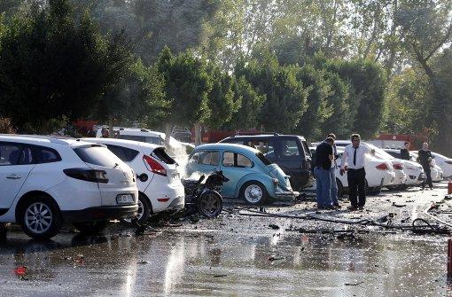 Zehn Verletzte bei Explosion in Antalya