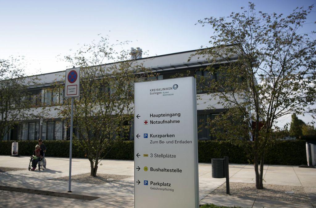 Das Kreiskrankenhaus Nürtingen plant den Bau neuer Operationssäle und Pflegestationen. Foto: Horst Rudel