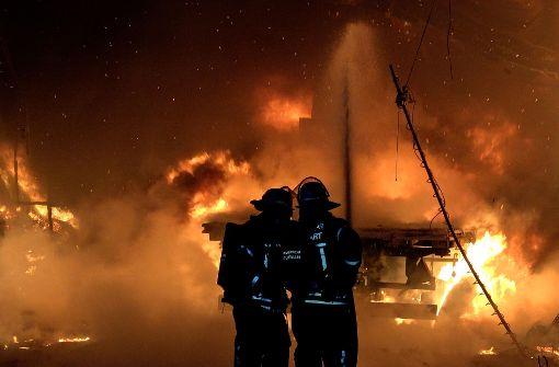 Lagerhalle eines Bauernhofs brennt ab – nicht zum ersten Mal