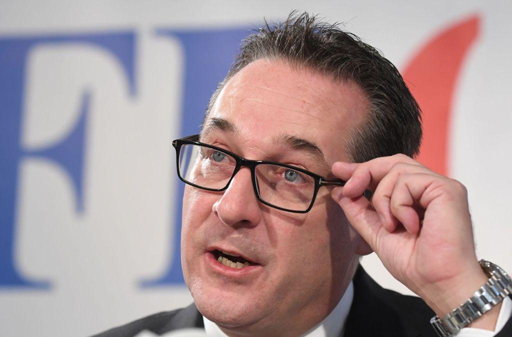 Heinz-Christian Strache steht offenbar im Fokus der Staatsanwaltschaft. Foto: Roland Schlager/APA/dpa