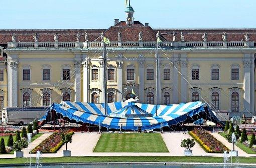 Schlossgarten wird zur Zirkusmanege