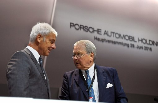 Aktionäre ärgern sich über VW-Chefs