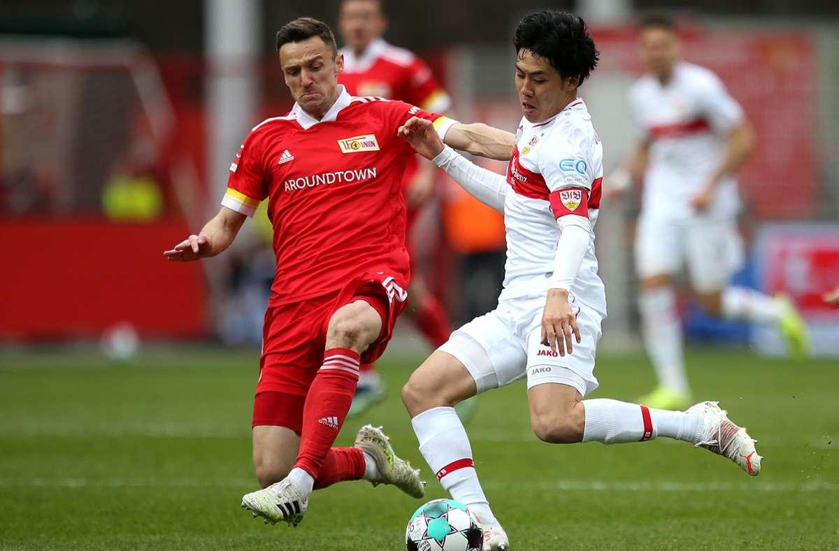 Christian Gentner (li.) spielt künftig in der ersten Liga der Schweiz. Foto: Baumann