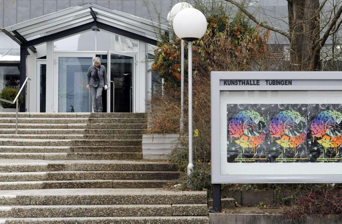 Künftig kann man Veranstaltungen in der Kunsthalle Tübingen auch virtuell besuchen. Foto: dpa/Marijan Murat