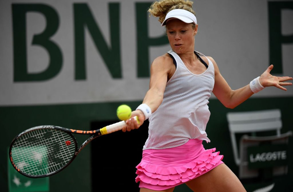 Aus für Laura Siegemund bei den French Open in Paris Foto: AFP