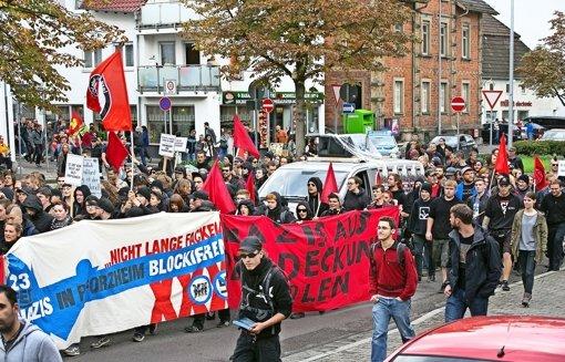 Ohne Naziaufmarsch bleibt alles friedlich