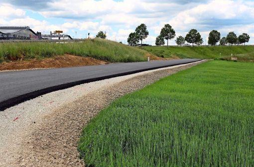 Die neue S-21-Baustraße ist für die Landwirte zu steil