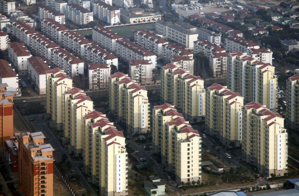 Die meisten Haushalte in China haben Wohneigentum. Foto: dpa