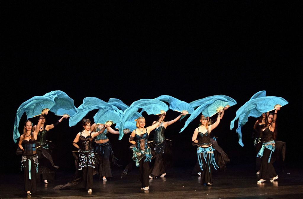 Die Mitglieder    der Tanzoase haben beim Turnverein Stammheim  eine neue Bleibe gefunden. Ihren Einzug feiern sie mit einer Show. Foto: Privat