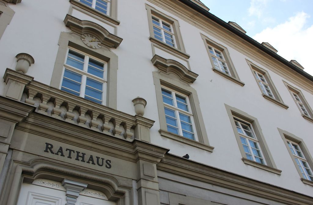 Im Ludwigsburger Rathaus ist enorm viel Bewegung – und Reibung. Foto: Pascal Thiel