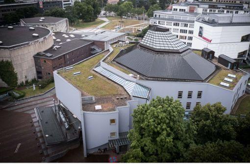 Liederhalle  in Stuttgart wird  ein Jahr zur Baustelle