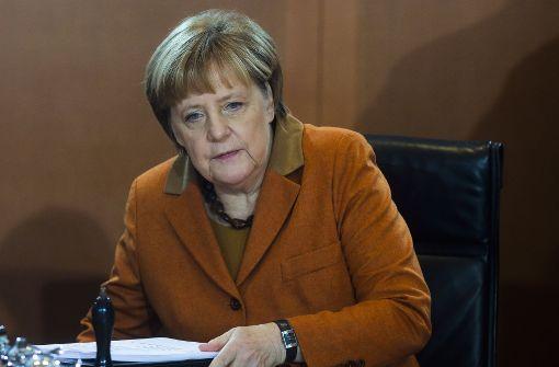 Merkel fordert Waffenruhe