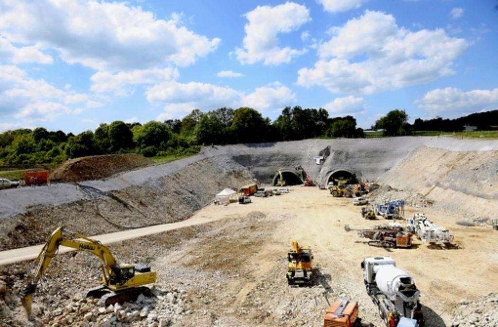 Wöchentlich soll das Rettungskonzept für die Baustelle aktualisiert werden. Foto: Bahnprojekt Stuttgart-Ulm