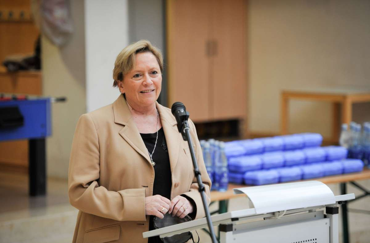 Susanne Eisenmann reagierte auf Vorschläge aus ihrer eigenen Partei und der CSU, die Weihnachtsferien zu verlängern und spätere Ferien zu verkürzen. Foto: Lichtgut/Max Kovalenko