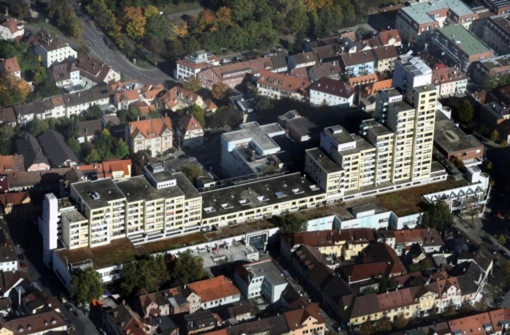 Ein Großteil der Läden im Marstall-Center in der Ludwigsburger Innenstadt steht leer. Foto: Werner Kuhnle