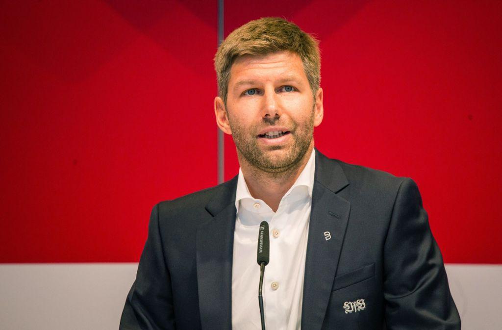 Thomas Hitzlsperger  – hier bei der Mitgliederversammlung – wird nun VfB-Vorstandschef. Foto: dpa/Christoph Schmidt