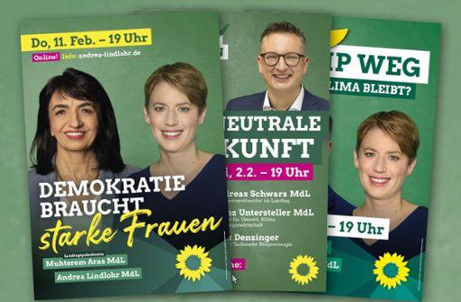 Landes-Grüne präsentieren ihre Kandidaten für die Wahl