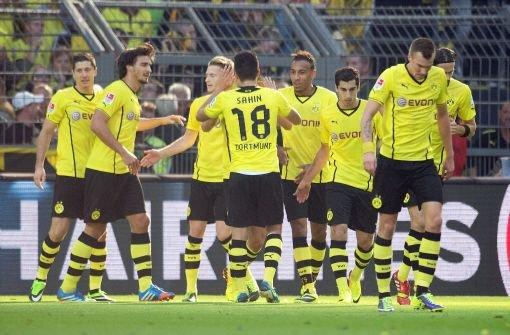 BVB bleibt vorn, auch Bayer und Bayern siegen