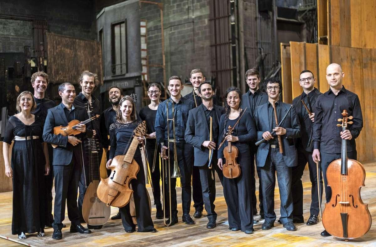 """Das Ensemble """"Il Gusto Barocco"""" konnte auch in der Pandemiezeit an Opernaufführungen arbeiten. Dabei half die Förderung durch die Baden-Württemberg-Stiftung. Foto: Daniele Caminiti"""