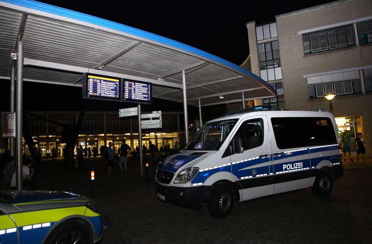 Die Polizei hat einen 34-Jährigen im Bahnhof in Bietigheim festgenommen (Symbolbild). Foto: 7aktuell.de/Adomat/www.7aktuell.de/Sven Adomat