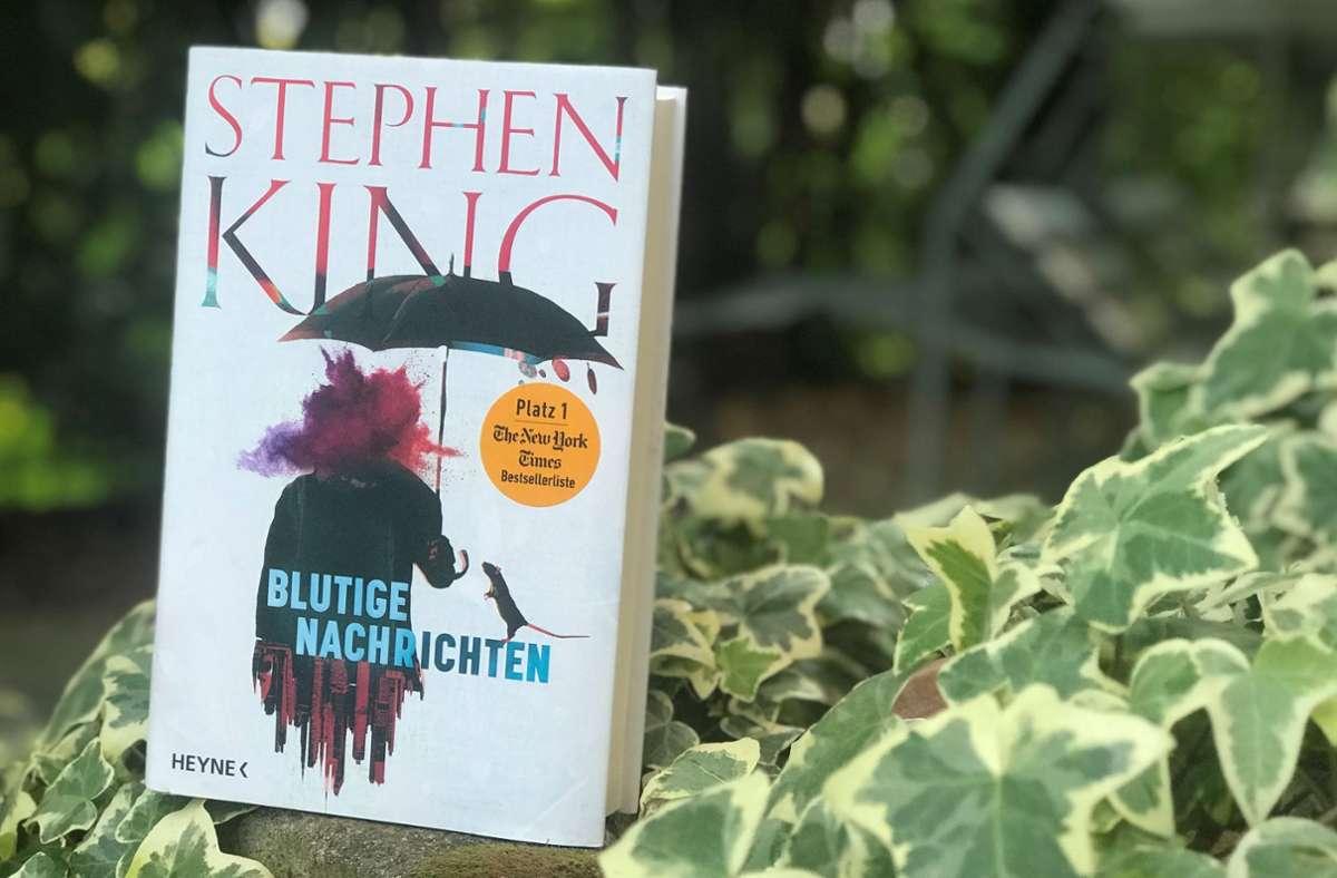 Stephen King hört auch mit über 70 Jahren einfach nicht auf zu schreiben. Foto: Lukas Jenkner