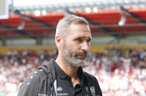 Hohe Geldstrafe für VfB-Trainer Tim Walter