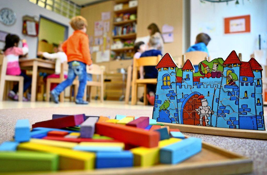 Bei der Betreuung der Kleinkinder bis drei Jahren liegt der Versorgungsgrad im Stadtbezirk Feuerbach gerade mal  bei 34 Prozent. Foto: dpa/Monika Skolimowska