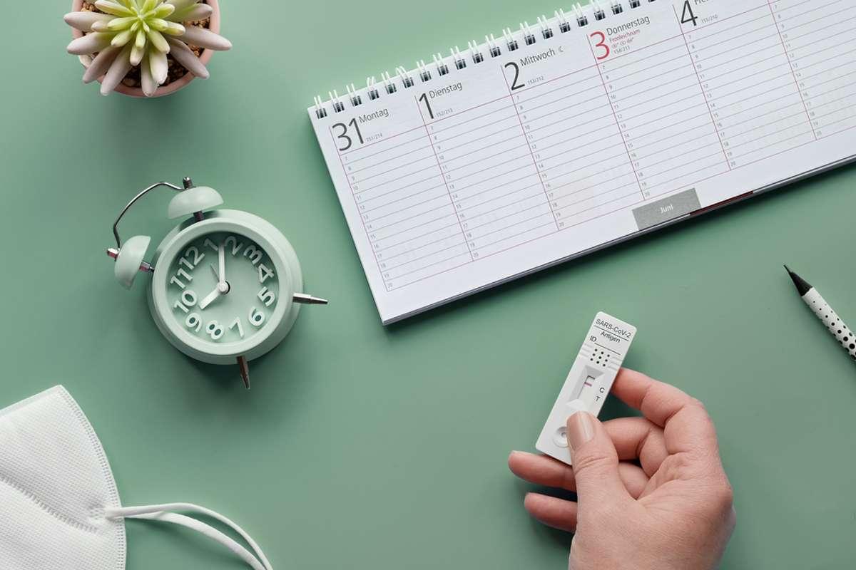 So lange können Sie die Nachweise verwenden. Foto: anyaivanova / shutterstock.com