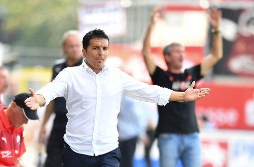 Sandhausen will den VfB überholen