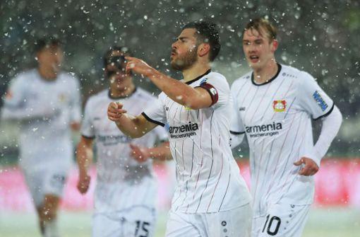 Hannover 96 verliert im Schneetreiben gegen Bayer