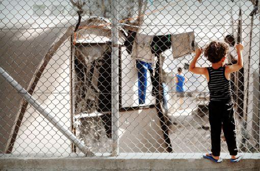 Dramen in griechischen  Flüchtlingscamps