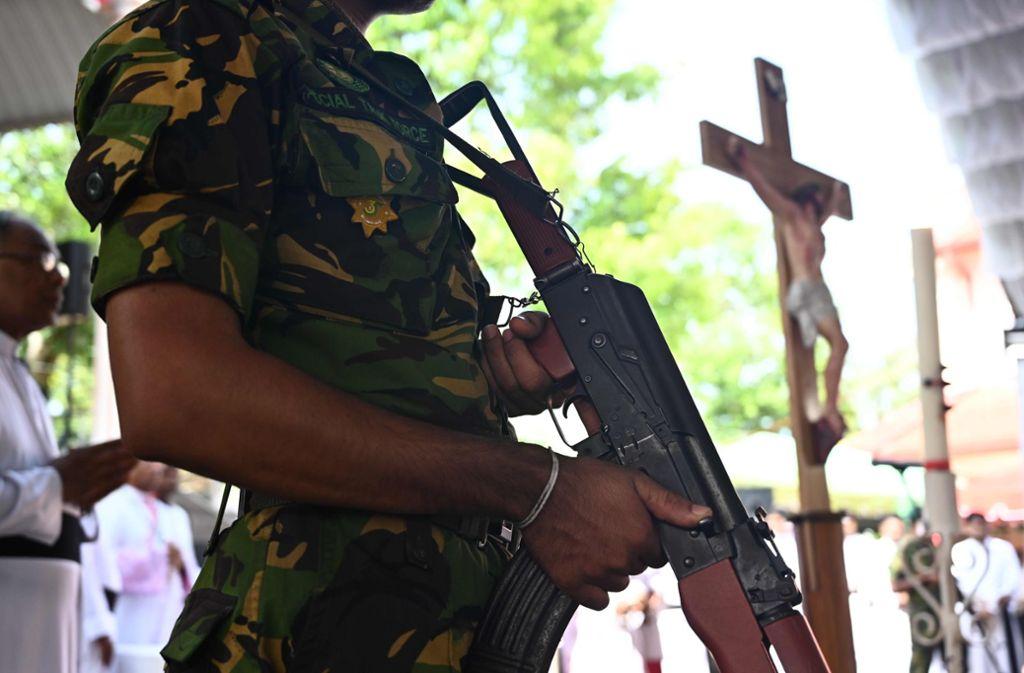 Nach den Anschlägen in Sri Lanka sind viele Fragen offen. Foto: AFP