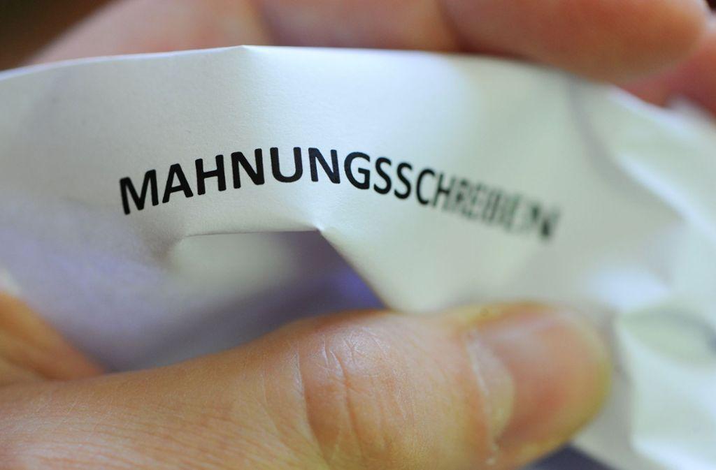 Die Mainkas Solution Group, die vorgibt, ein Inkassounternehmen zu sein, fordert zurzeit zu Zahlungen auf. Tatsächlich existiert das Unternehmen nicht (Symbolbild). Foto: dpa