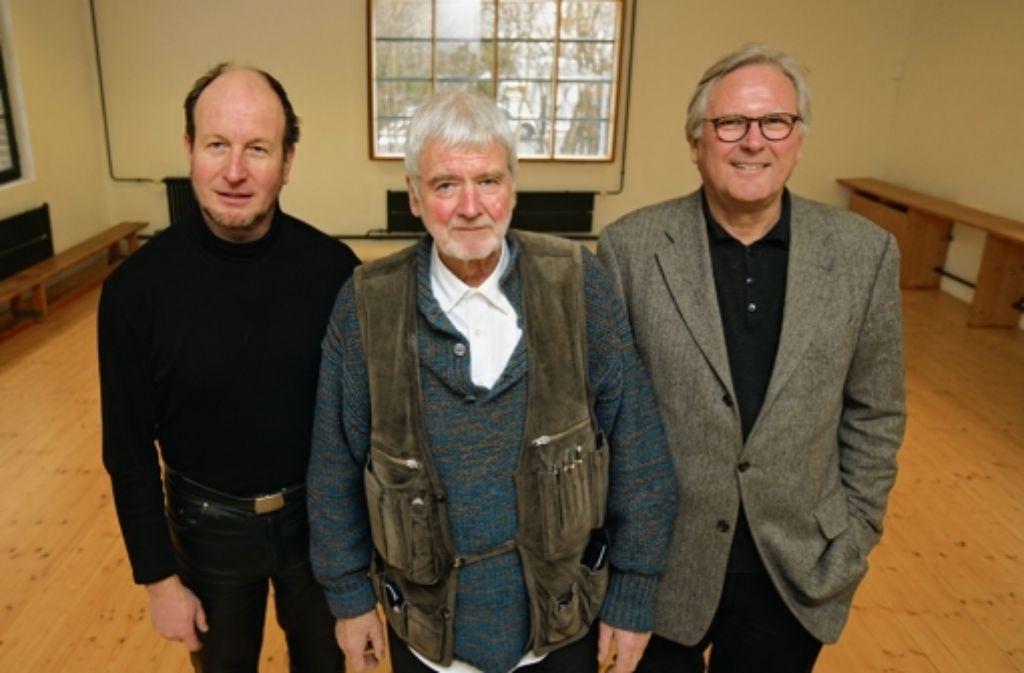 Drei fürs Höfle: Rainer Kilian, Hans Gerlach, Sebastian Sage (v. li.). Foto: Achim Zweygarth