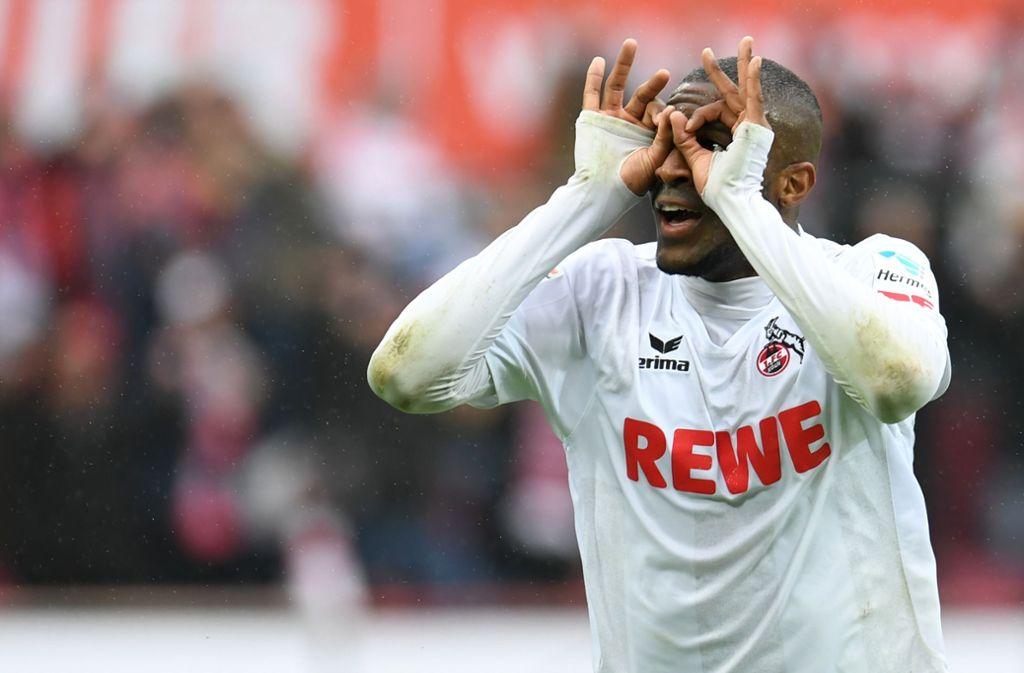 Anthony Modeste hat offenbar das Interesse des VfB Stuttgart geweckt. Foto: AFP