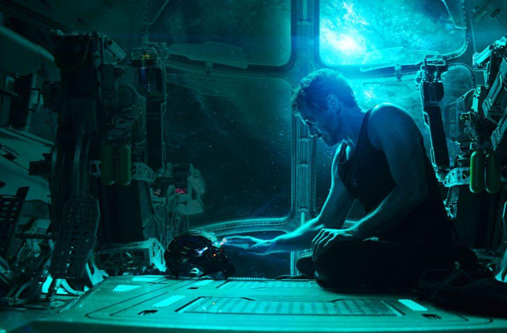 """Es riecht nach Abschied von einer großen Rolle: Robert Downey jr. als Iron Man in """"Avengers 4 – Endgame"""" Foto: Verleih"""