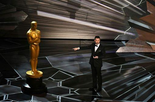 Oscar-Moderator mit Spitzen zum Missbrauchsskandal in Hollywood