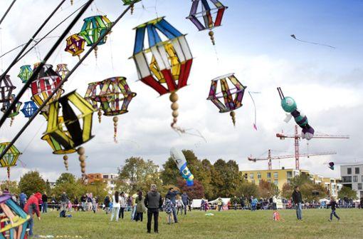 Scharnhauser Park erlebt wahre Dracheninvasion