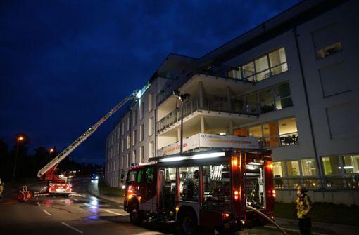Zwei Verletzte bei Brand in Seniorenheim