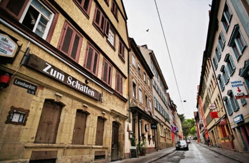 Von der Jakobstraße Foto: Heinz Heiss