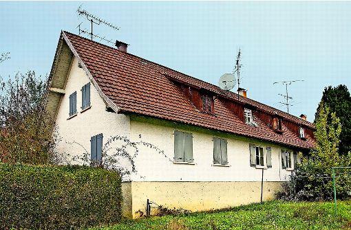 Historisches Flüchtlingsheim vor Abriss