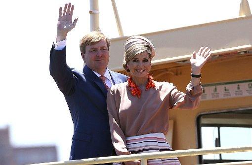 Niederländische Royals erobern Australien