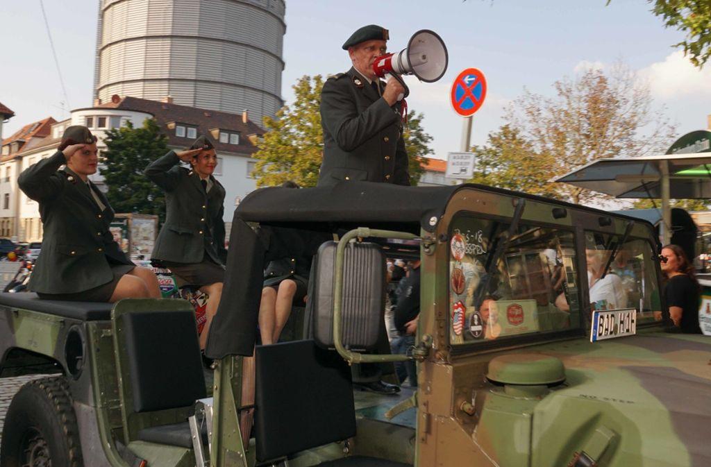 """Am Schlachthof findet am Wochenende die """"Harley & US-Car Village"""" statt. Foto: Andreas Rosar Fotoagentur-Stuttg"""