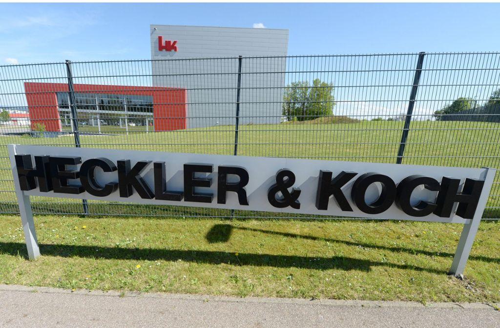 Heckler & Koch kommt nicht aus den Schlagzeilen. Foto: dpa